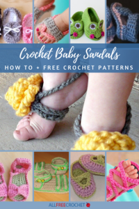 24+ Crochet Baby Sandals (+ Exclusive Tutorial)