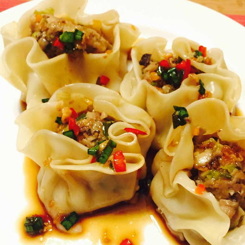 Veal Steamed Dumplings Dim sum