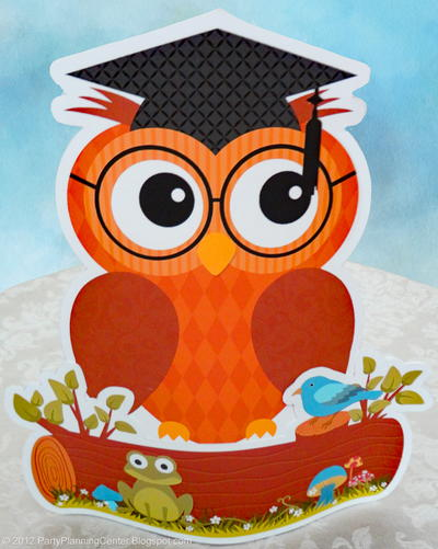 Graduation Owl Printable Decoration