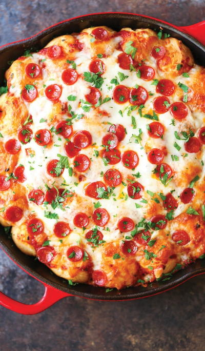 Cheesy Garlic Bread Pizza Recipe