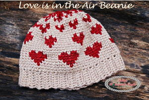 Loved Up Waistcoat Stitch Crochet Hat