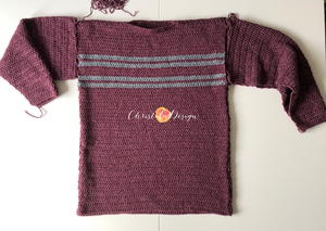 Men's Simple Striped Sweater