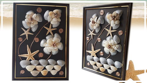 How to Make Easy Seashells Decoration Project