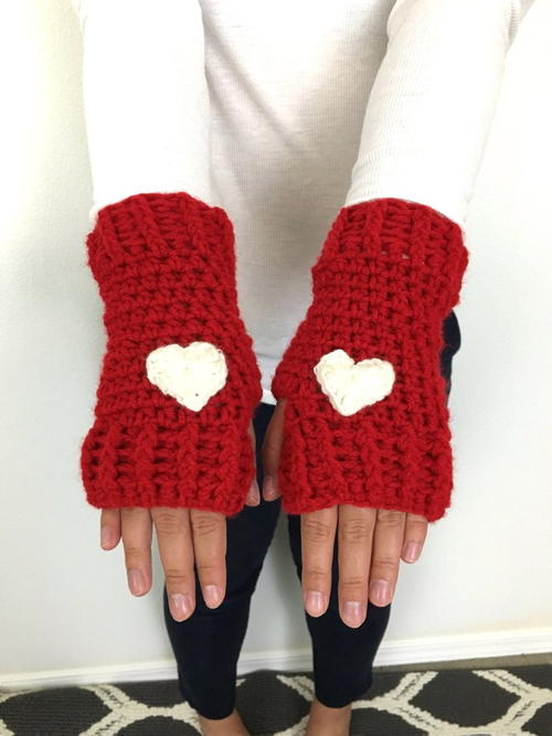 Loveland Crochet Fingerless Gloves