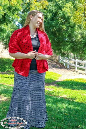 How to Crochet a Lace Shawl Pattern