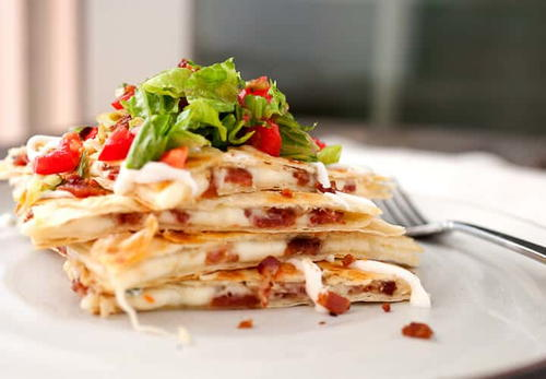 BLT Quesadilla Recipe