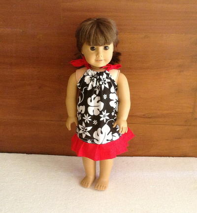 Pillowcase Dress Pattern for !8 Inch American Doll