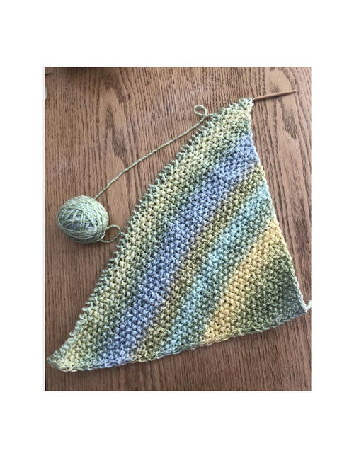 Sunny Meadow Corner-To-Corner Baby Blanket