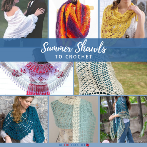 Summer Shawls to Crochet