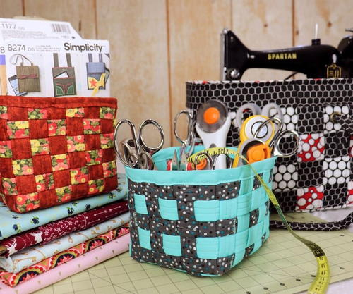 DIY Fabric Storage Box Upcycle