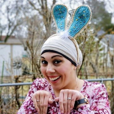 Short Crochet Bunny Ears Hat Pattern