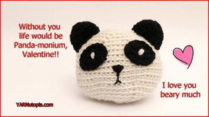 Smartapple Creations - amigurumi and crochet: Amigurumi Panda | 169x300