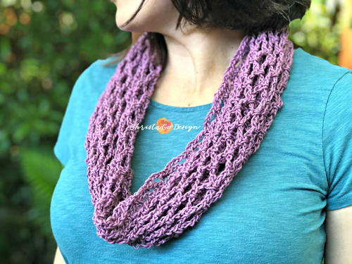 Archwork Cotton Crochet Cowl