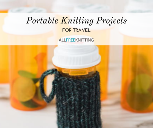 Portable Knitting Projects for Travel