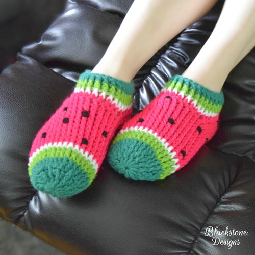 Watermelon Chunky Slippers for Adults