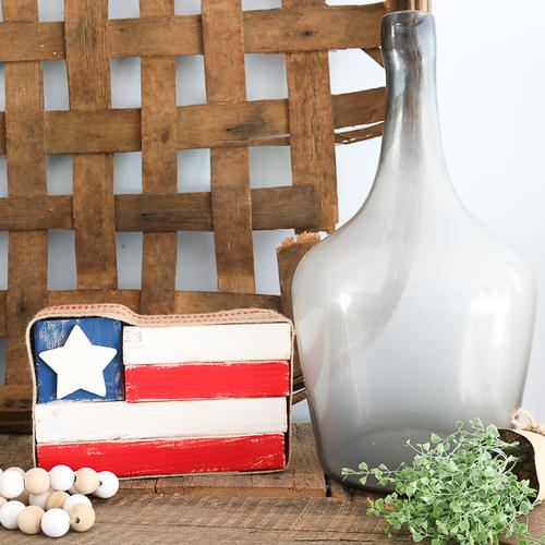 Patriotic Scrap Wood Upcycle