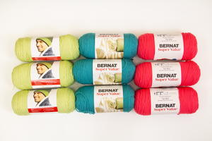 Bernat Super Saver Neon Yarn Bundle Giveaway