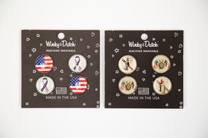 Winky & Dutch Patriotic Sew-On Button Set Giveaway