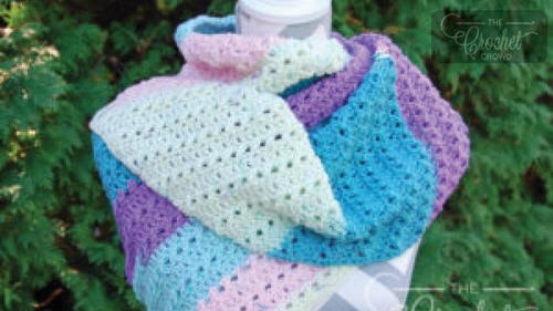 Quick One-Skein Crochet Scarf Pattern