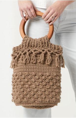 Day Tripper Bucket Bag Crochet Pattern
