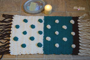 Plush Poms Bath Mat