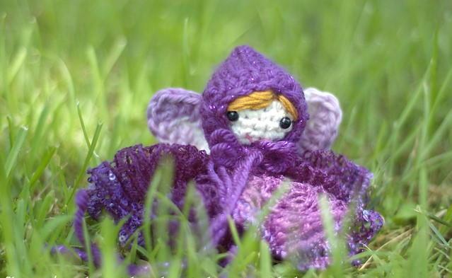 crochet amigurumi fairy doll pattern