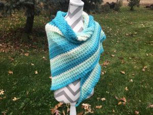 Seaside Crochet Shawl Pattern