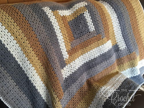 Easy Crochet Rustic Throw Pattern