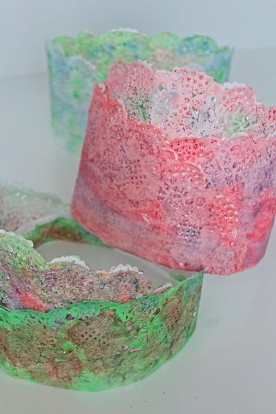 DIY Paper Party Crowns