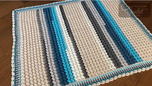 Day at the Beach Crochet Baby Blanket Pattern
