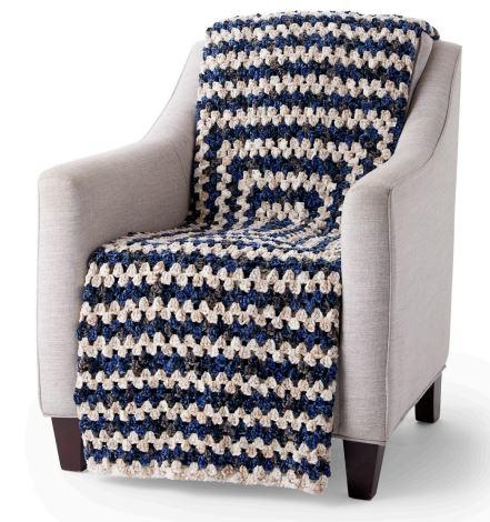 Easy Crochet Granny Blanket Pattern