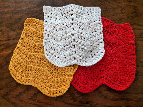 Chevron Dishcloths