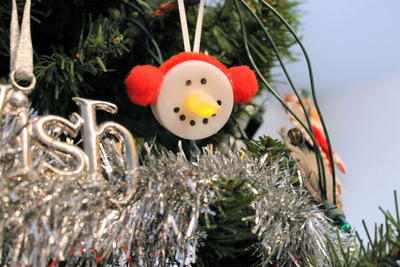 Easy DIY Snowman Tealight Ornaments