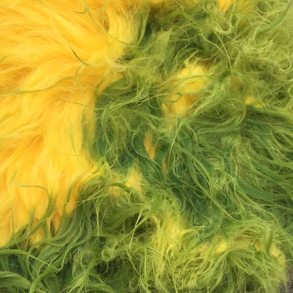 Example of Faux Fur - Tie-Dyed