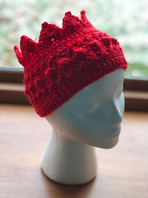 Beanie Crown Crochet Hat Pattern