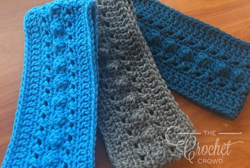 Winter Crochet Headband Pattern for Adults
