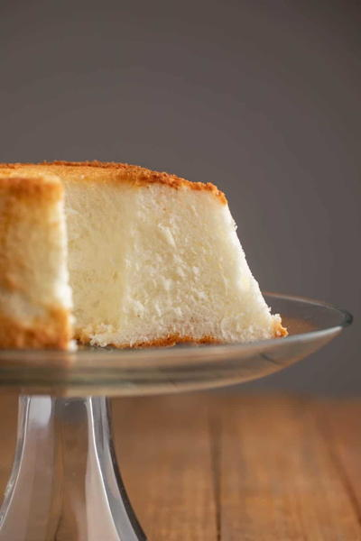 Perfectly Light Angel Food Cake