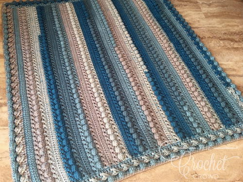 Seaside Crochet Baby Boy Blanket Pattern Allfreecrochetcom