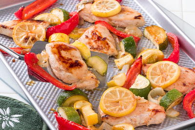 Citrusy Chicken and Veggies