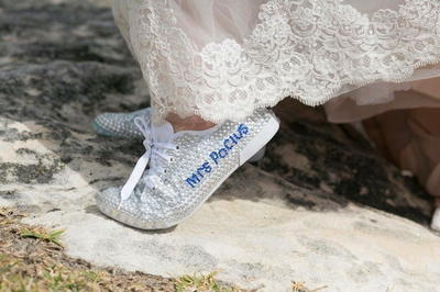 DIY Personalized Wedding Shoes