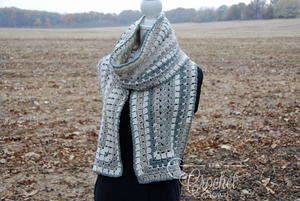 Quick and Easy Crochet Winter Scarf