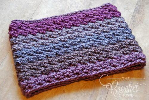 Super Bulky Crochet Neck Warmer Allfreecrochetcom