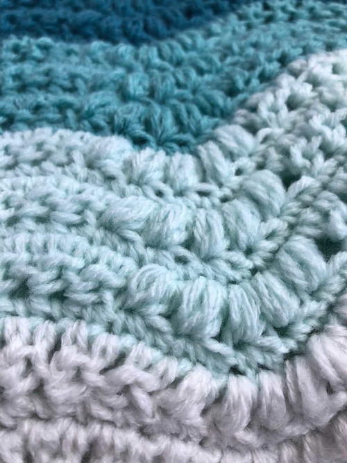 Bahama Waves Baby Blanket