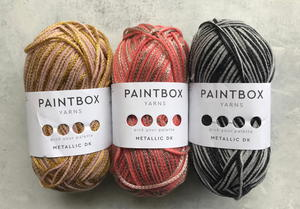 Paintbox Metallic DK Fanciful Yarn Bundle Giveaway