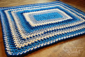 One-Day Crochet Baby Blanket