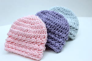 Little Textures Newborn Beanie