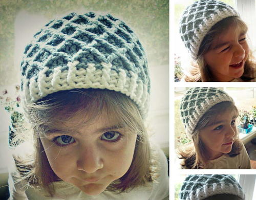 Daring Diamond Kids Hat