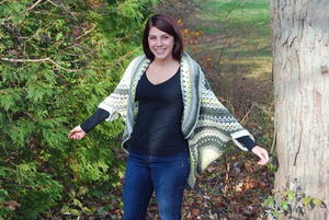 Comfortable Crochet Shrug with Sleeves