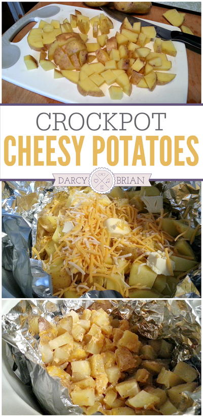 Slow Cooker Cheesy Potatoes Recipe