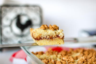 Grandma's Peanut Butter and Jelly Bars